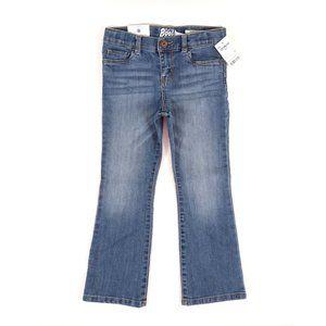 OSHKOSH boot cut denim, girl's size 5T